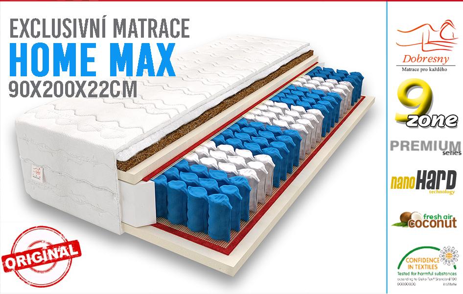 matrace kokos 90x200 9 z nov home max h3 h4 aukro archiv. Black Bedroom Furniture Sets. Home Design Ideas